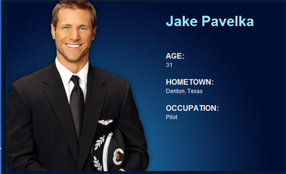 jake Pavelka, jacob lynn pavelka, The Bachelor