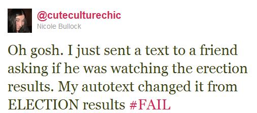 Curse you Autocorrect