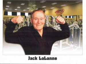 Jack LaLanne in his 90s