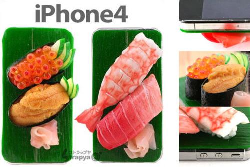 iphone 4 sushi