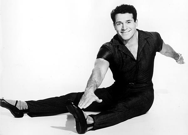 Jack LaLanne stretching