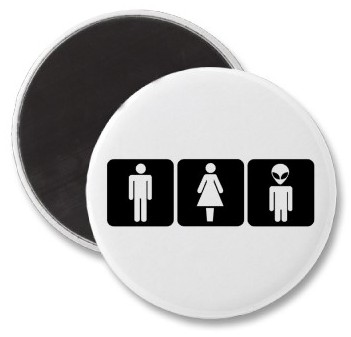 restroom sign male female