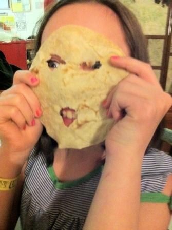 Rosie has a tortilla face!