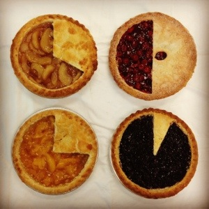 Thanksgiving Pie Charts