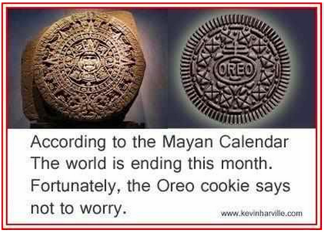 oreo cookie mayans