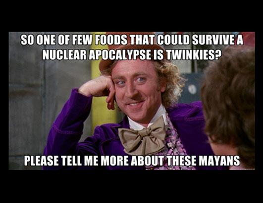 sarcastic wonka end of the world