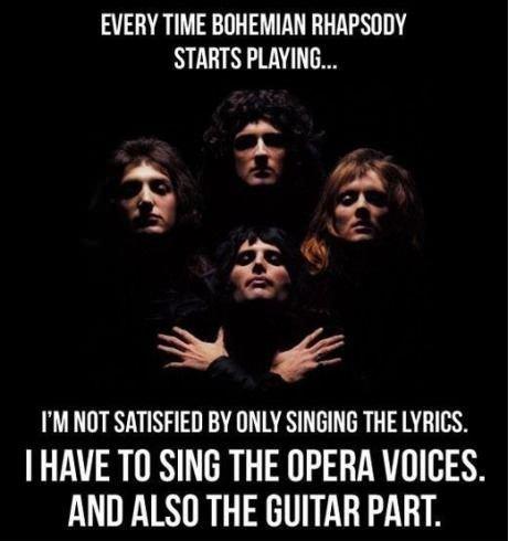 Flashback Friday     Bohemian Rhapsody    by QueenQueen Band Lyrics Tumblr