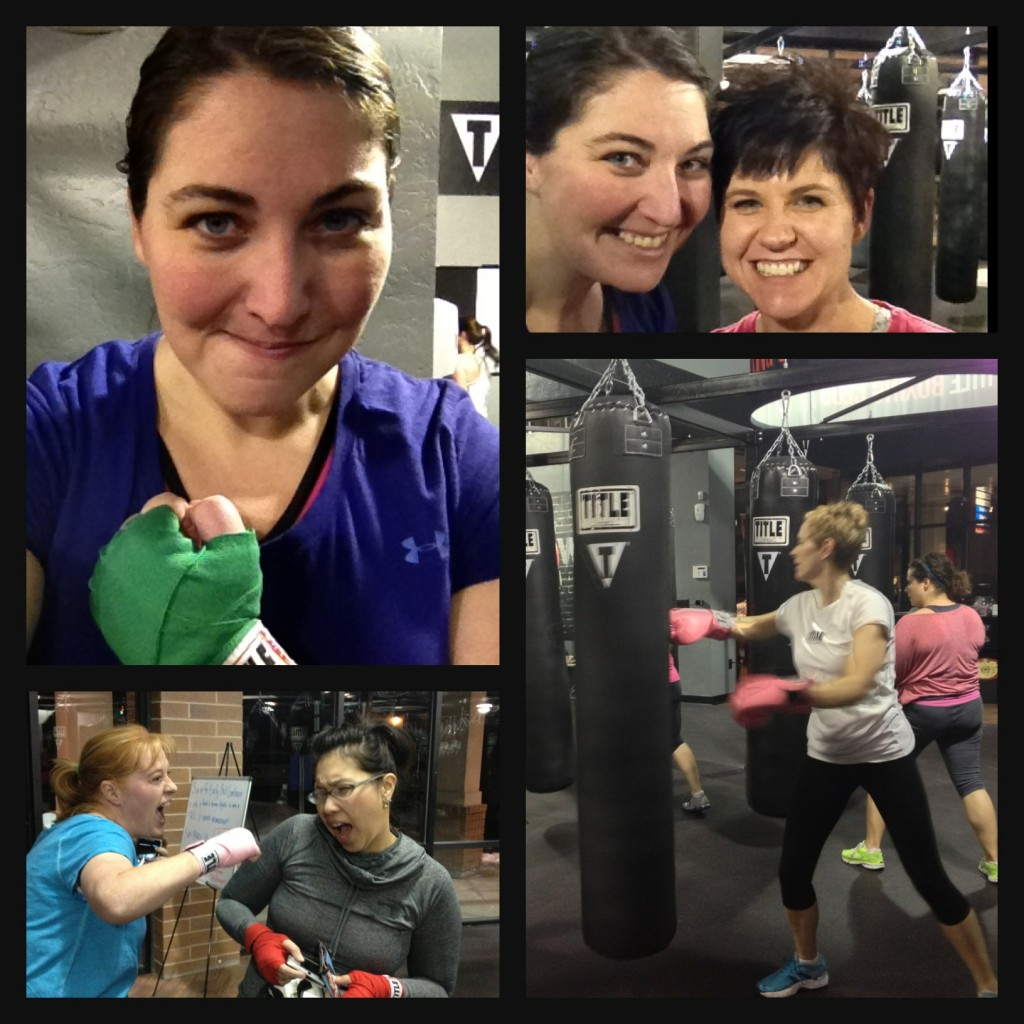 bloggers night at title boxing utah