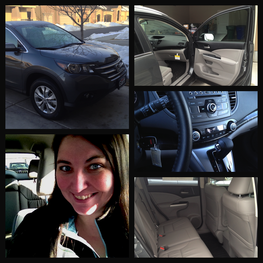 honda crv collage