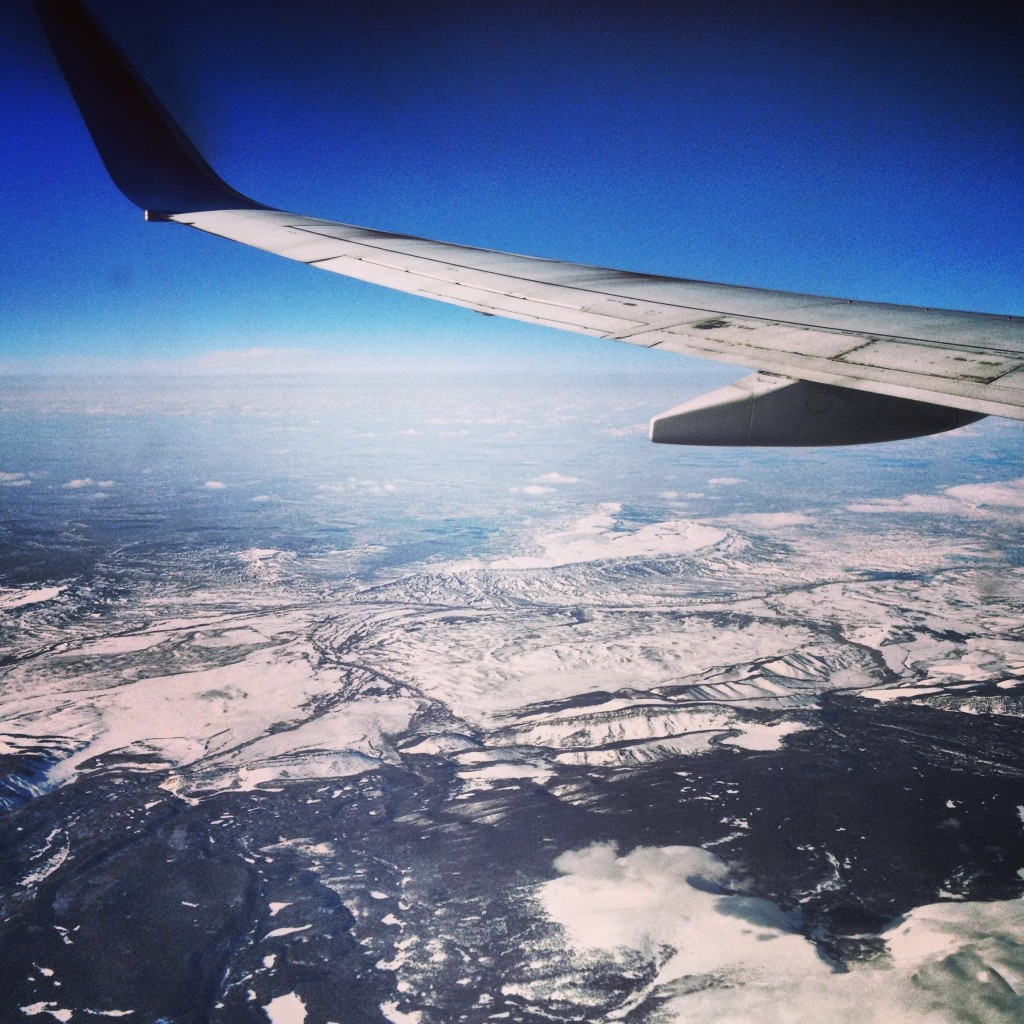 flying over denver