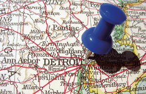 detroit map pin