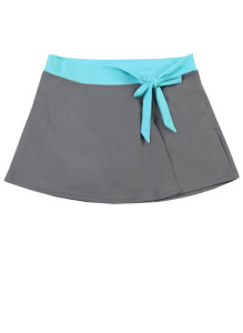 free country swim skirt cloud_grey-aqua