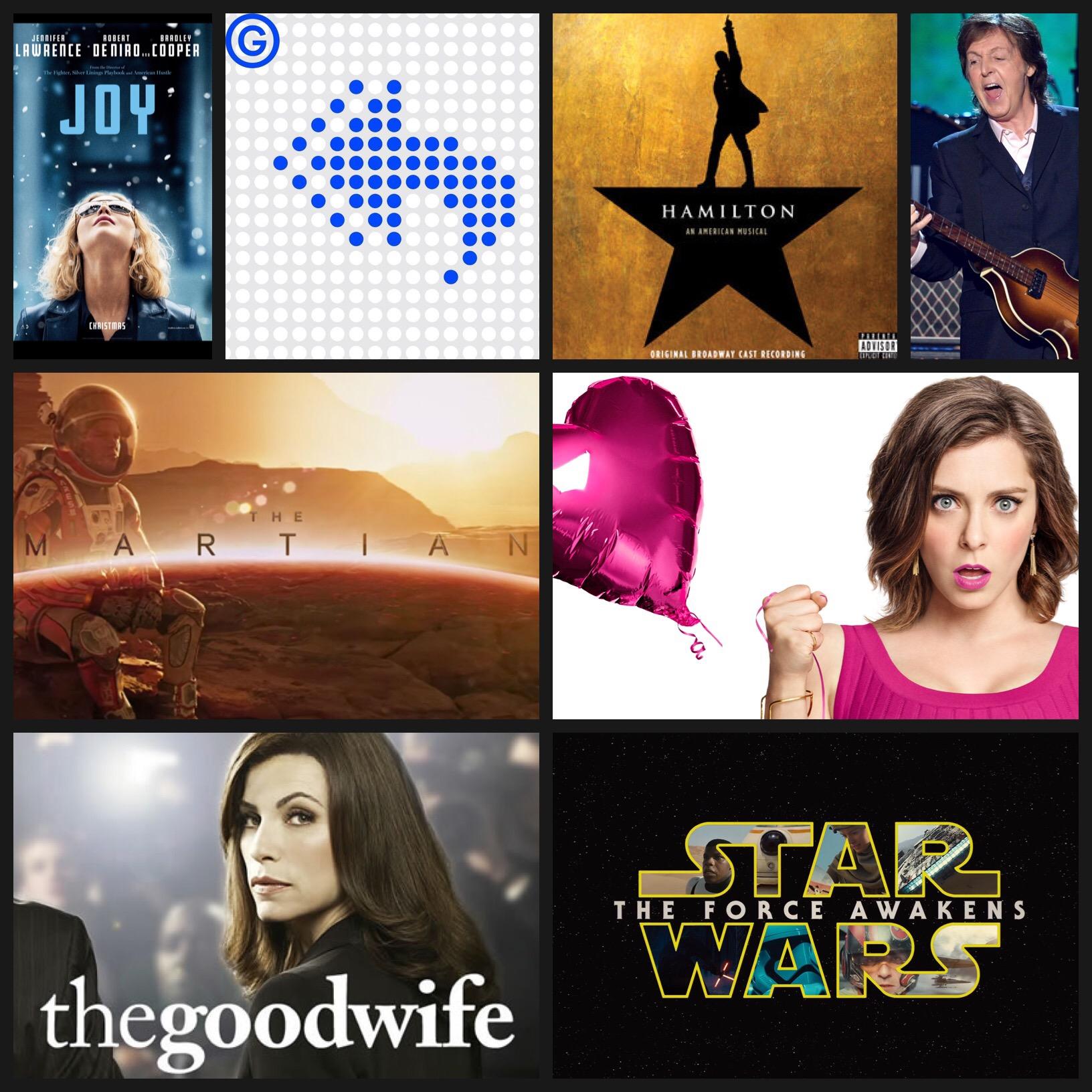 2015 pop culture
