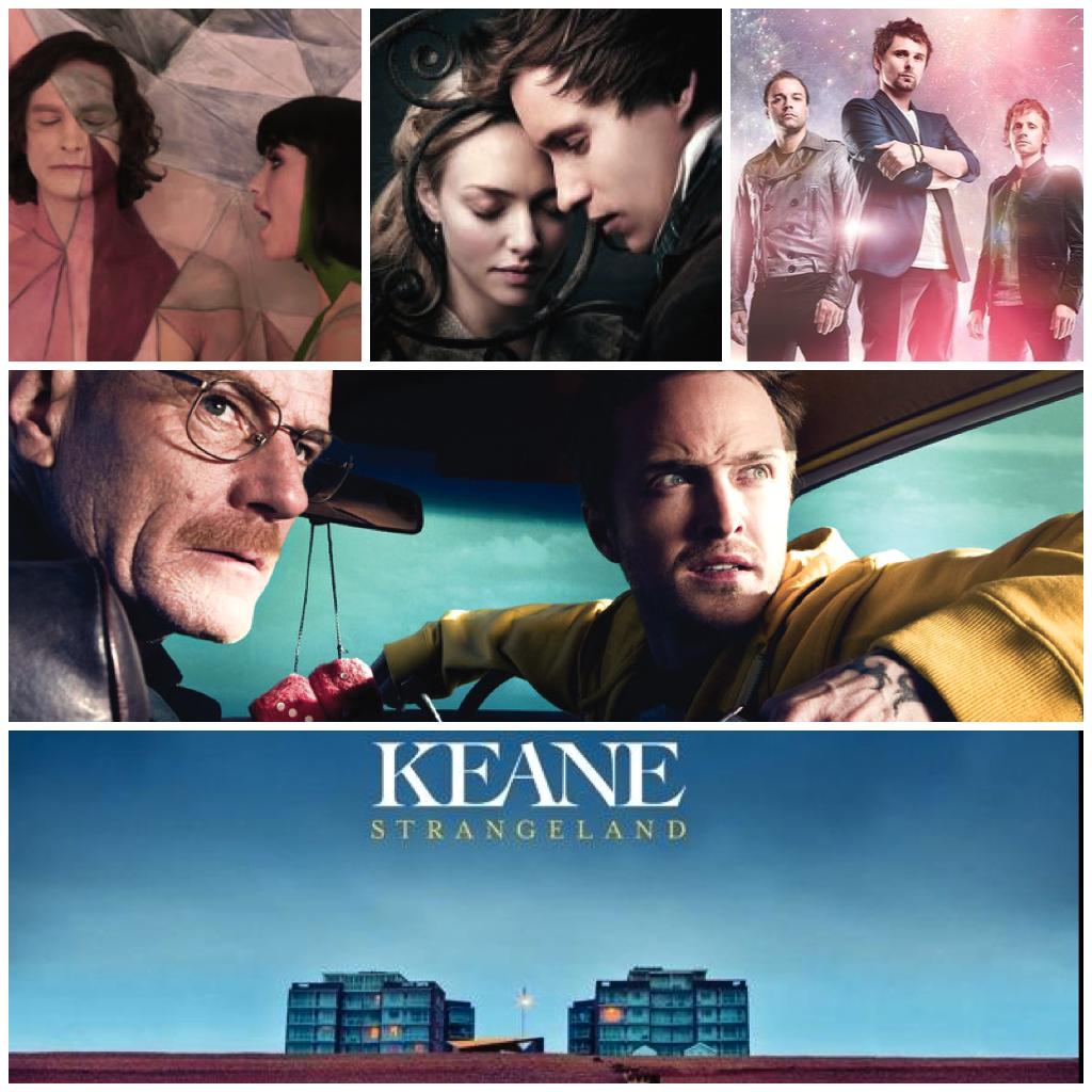 favorite movies music tv 2012