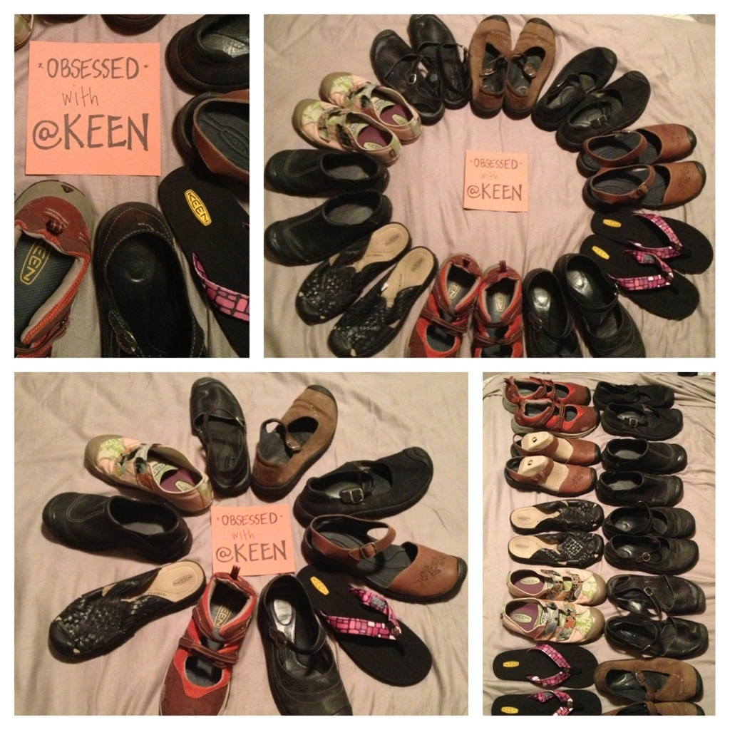 obsessed with keen shoes