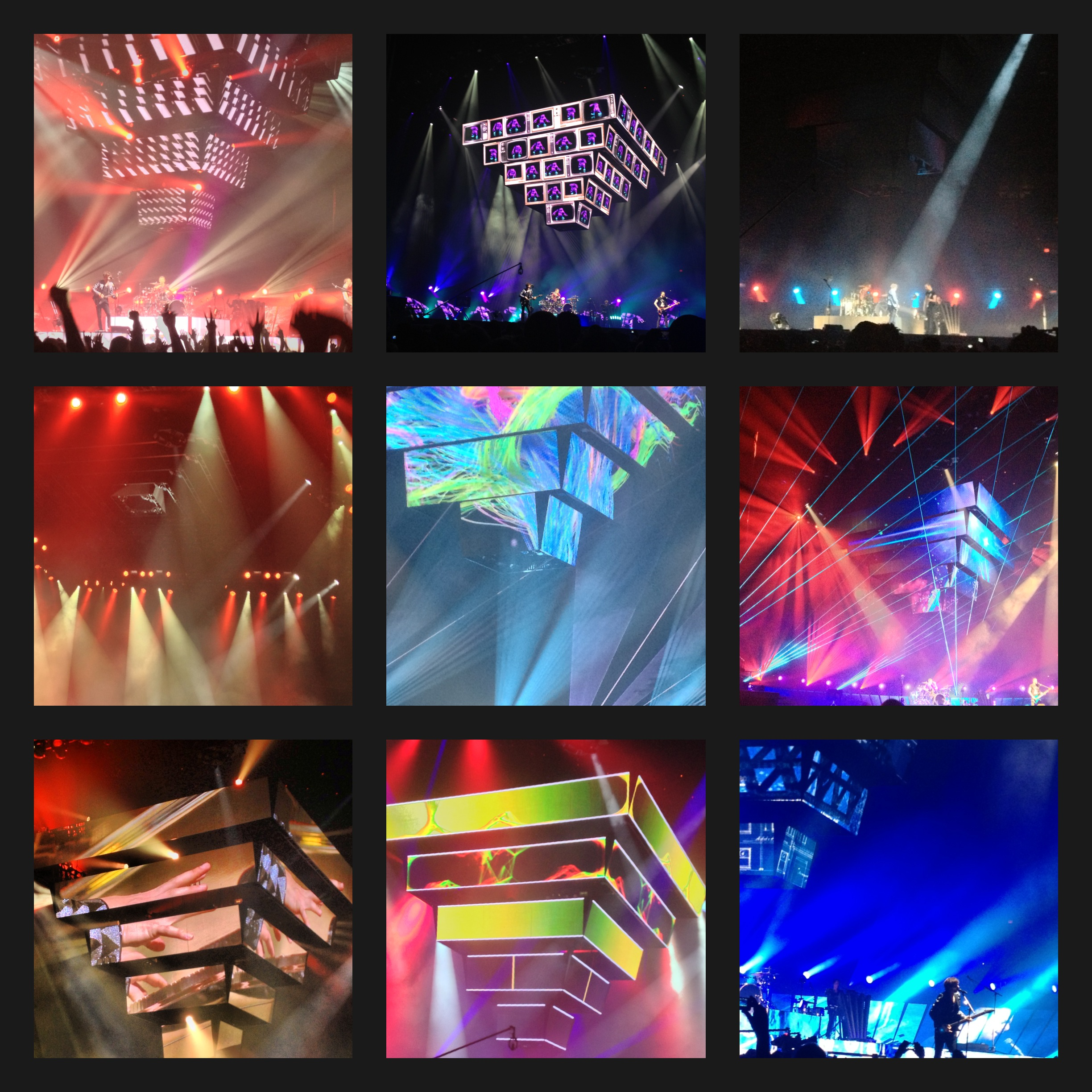 Muse Concert in Portland