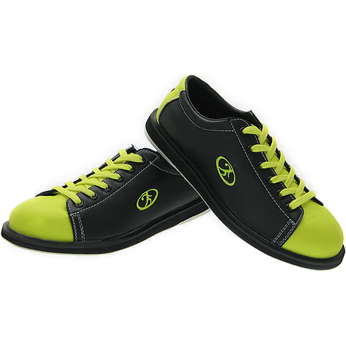 glow-in-the-dark bowling shoes